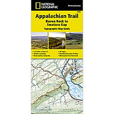 1506 Appalachian Trail, Raven Rock to Swatara Gap (Pennsylvania) Trail Map