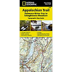 1508 Appalachian Trail, Delaware Water Gap to Schaghticoke Mountain (New Jersey, New York) Trail Map