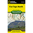 150 Flat Tops North Trail Map