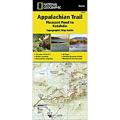1513 Appalachian Trail, Pleasant Pond to Katahdin (Maine) Trail Map
