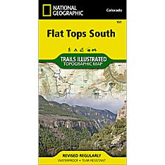 151 Flat Tops South Trail Map
