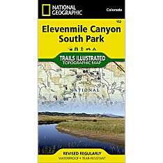152 Elevenmile Canyon, South Park Trail Map