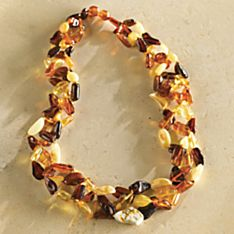 Handcrafted Lithuanian Amber Necklace