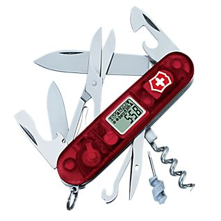 Swiss Army Multitool with Digital Weather Display