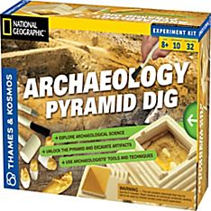 Archaeology Kit: Egyptian Pyramid, Ages 8 and Up