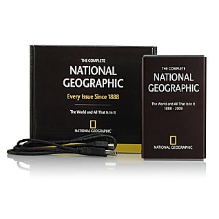 Complete National Geographic on 160-GB Hard Drive - Updated Edition