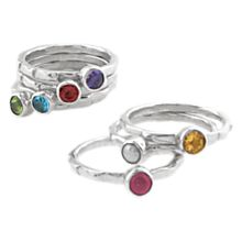 Indonesian Shou Birthstone Rings