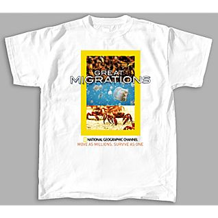Great Migrations Animal Scenes T-Shirt