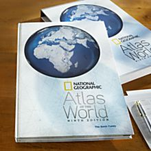Personalized Deluxe 9th Edition Atlas of the World, 2010