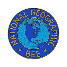 National Geographic Bee Lapel Pin