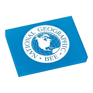 National Geographic Bee Eraser