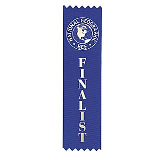 View National Geographic Bee Finalist Ribbon image
