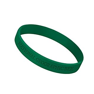 View National Geographic Bee Rubber Bracelet image