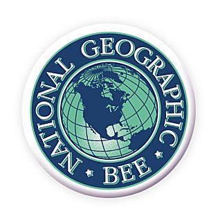 National Geographic Bee Round Button