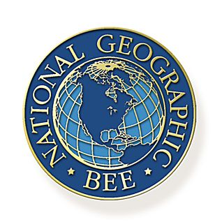 National Geographic Bee Enameled Pin