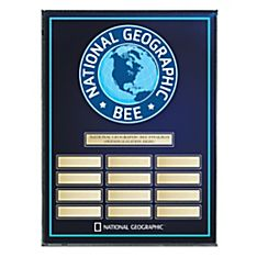 Bee Award Plaque - Personalized
