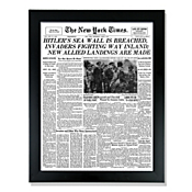 """New York Times """"Your Date"""" Framed Front Page"""
