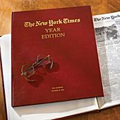 Personalized New York Times Keepsake Folio