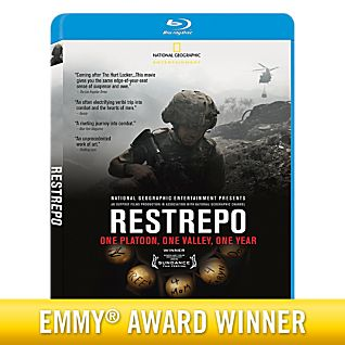 Restrepo Blu-ray Disc