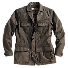 100% Cotton Rugged Safari Travel Jacket