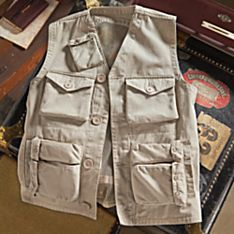 100% Cotton Air Force-Inspired Military Vest
