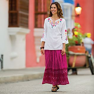 View Indian Wildflower Tunic image