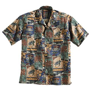View Cotton Aloha Travel Shirt image
