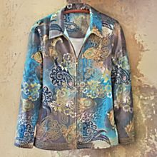 Canvas Kovalam Beach Emboidered Jacket