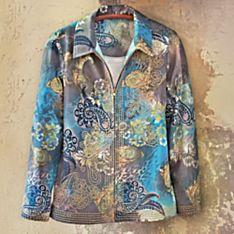 Kovalam Beach Emboidered Jacket