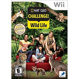 Nat Geo Challenge! Wild Life Wii Game