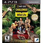 Nat Geo Challenge! Wild Life PS3 Game