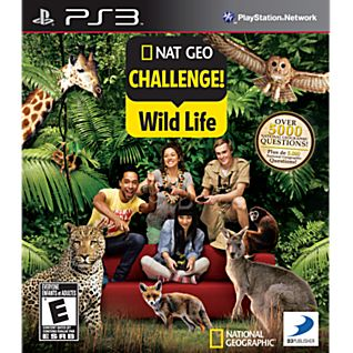 Nat Geo Challenge! Wild Life PS3 Game