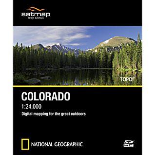 photo: Satmap National Geographic TOPO! Colorado SD Card us mountain states map application