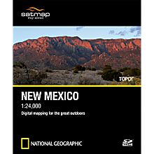 Topo! SD Card: New Mexico
