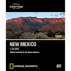 New Mexico Travel Map