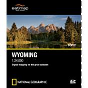 TOPO! SD Card: Wyoming