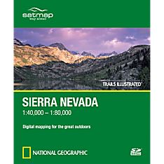 Trails Illustrated SD Card: Sierra Nevada