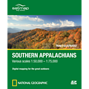 Trails Illustrated SD Card: Southern Appalachians