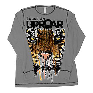 View Tiger ''Cause An Uproar'' Long-sleeved Shirt - Adult Sizes image