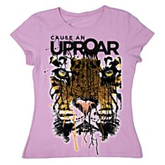 Women's 'Cause An Uproar' Tiger T-Shirt
