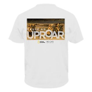 Lions ''Cause An Uproar'' Big Cat T-Shirt - Adult Sizes