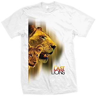 ''The Last Lions'' T-Shirt Adult Sizes