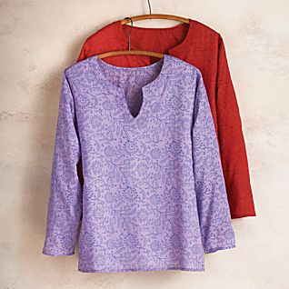 Cotton Chintz Tunic