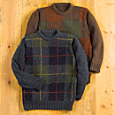Scottish Tartan Wool Sweater