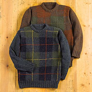 View Scottish Tartan Wool Sweater image