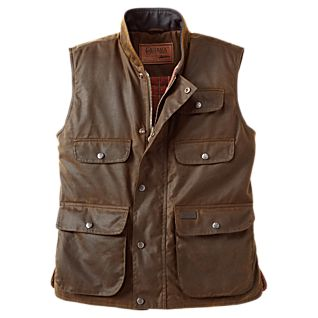 photo: National Geographic Outback Oilskin Vest vest
