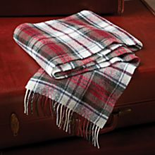 Mcduff Tartan Lamb's-Wool Scarf, Made in Scotland