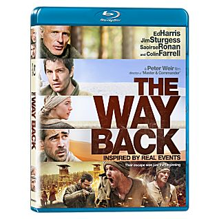 The Way Back Blu-ray Disc
