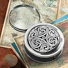 Celtic Pewter Magnifier, Crafted in England