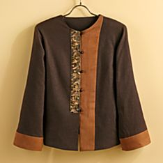 Women's Embroidered Miao Linen Jacket